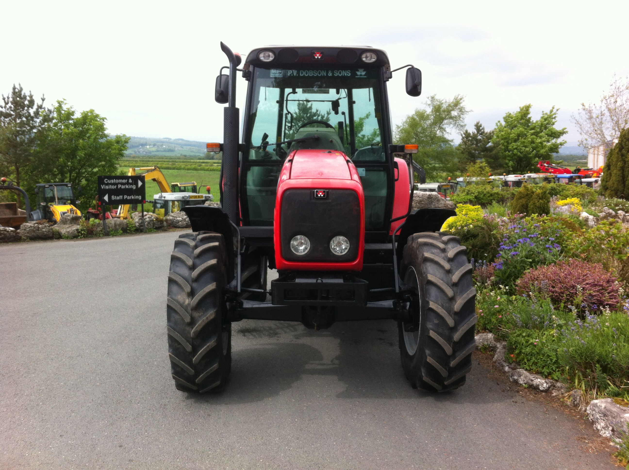 massey ferguson 5455 service manual