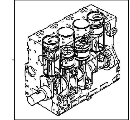perkins 1000 series short motor